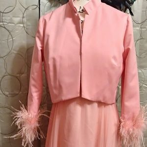 Gorgeous 1950s Vintage Dress and Jacket